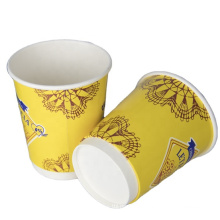 hot cold drink printed double wall cup