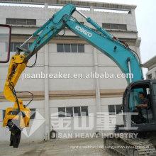 Hydraulischer Vibrationspfahltreiber, Kobelco SK360 Pfahlhammer