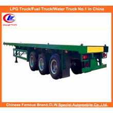 3-Axle Flatbed Container Semi Trailer (40ft)