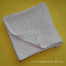 Soft Cotton Cellular Baby Blanket CB-1309102