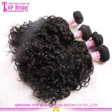 Fornecedores de china cabelo brasileiro quente cabelo brasileiro de venda de extensões de cabelo curto e encaracolado brasileiro Brasil nova moda