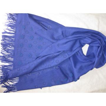 30% Kaschmir 70% Wolle Sunny Carving Schal