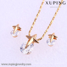61771- Xuping Imitation bridal jewelry sets gold online