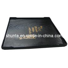 100% Melamin Geschirr-Rechteck Tablett (QQBK19003)