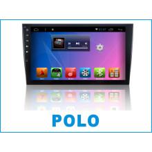 Sistema Android GPS do carro para o pólo com o jogador de DVD do carro e a navegação