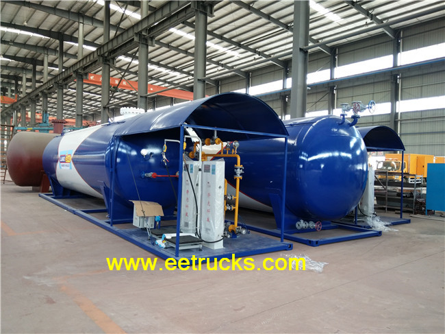 40000L Skid Mounted LPG Plant