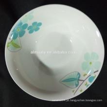 novo design salada tigela porcelana atacado
