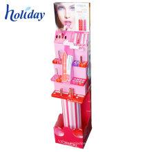 Présentoir cosmétique fait sur commande de support d'étagère d'affichage de point de vente de magasin de Mac
