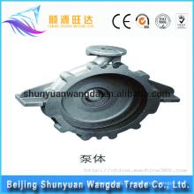 Fábrica de fornecimento atacado China Alta qualidade da bomba de titânio bomba de fundição peças