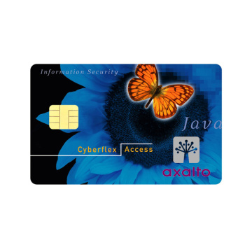 Carta di credito intelligente ISO7816 ContactIC Card