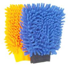 Preço de fábrica nova luva de microfibra luva de limpeza do carro de microfibra luva de lavagem de carro
