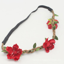 Moda femenina Boho Flor Floral estilo Hairband (HEAD-284)