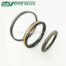 Excavator PTFE hydraulic cylinder rod and piston seal