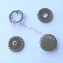 Bouton antidérapant en forme de laiton antique