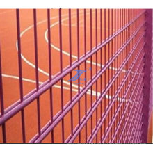 PVC-überzogener doppelter Draht-Zaun für Zoo