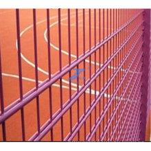 Clôture de double fil enduit de PVC pour le zoo