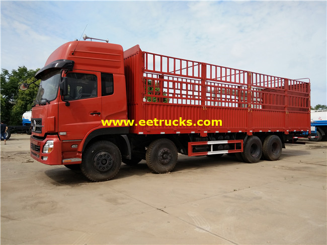 20 Ton Box Cargo Trucks