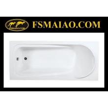 Baignoire décontractée simple en acrylique pour salle de bains (BA-8817)