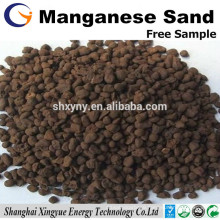 Manganese and Iron removal media 16-30 mesh manganese greensand