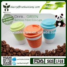 100% органическая чаша из бамбука