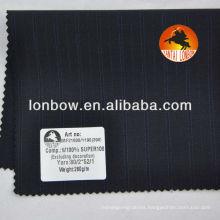 Super100 Fine quality Italia design worsted wool men's suiting fabric