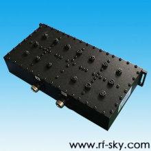ip66 ip67 590-597MHz 7.0 MHz bande passante pim valeur bi-bande passe-bande filtre rf