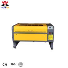 stone engraving machine 9060 100W  ruida hobby co2 laser cutting machine