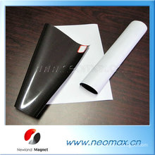 Good Quality Customized Strong Flexible Rubber Magnet With Adhesive