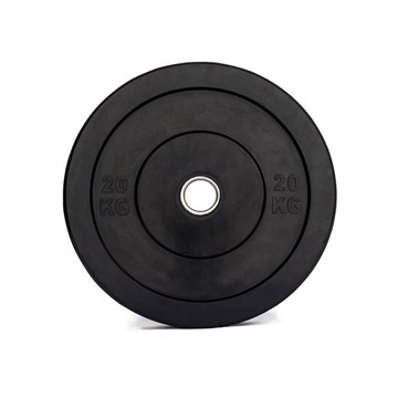 Custom leadman kg colorful fleck weight lifting olimpic rubber bumper plate sets