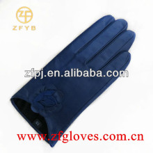 Fashion short leather gloves for ladies