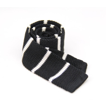 Custom Men's Good Quality Tie Skinny Embroidered Knitted Tie