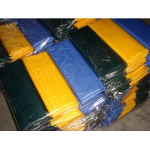 African GHALILA fabric jacquard hard handfeel polyester 5 yards/bag bazin riche damask textiles