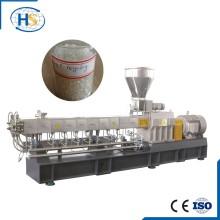 Fabrication en tissu en nylon en plastique d'une extrudeuse à double vis dans l'extrusion en plastique Tse-65A