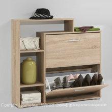 Wooden Shoe Storage Cabinet / Shoe Rack (HF-EY0831)