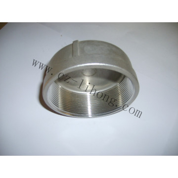 """Stainless Steel 1/8"""" DIN2999 Round Cap From Casting"""