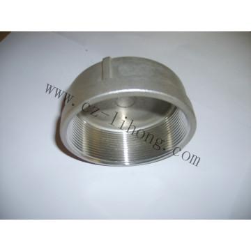 "3/4 ""de acero inoxidable DIN2999 Roscado Tapa redonda"