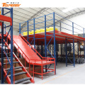 warehouse multi-level commercial upright&rack support mezzanine