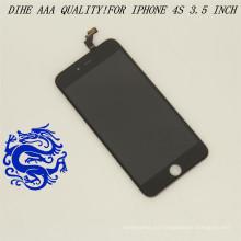 La pantalla táctil LCD de los recambios del teléfono móvil digitaliza para el iPhone 4S