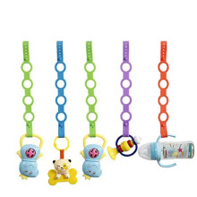 Custom Baby Pacifier Clips Silicone Toy Safety Straps