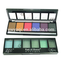 6Colors eyeshadow containers makes your eye more shinning