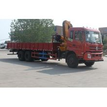 Camion de mesure de Dongfeng 6X4 avec la grue