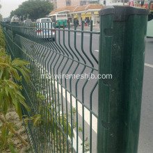 Green Color Welded Wire Mesh Fence Netting