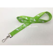 Custom Silk Screen Metal Hook Lanyards