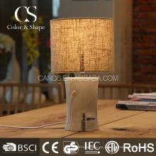 Textura de árbol de arte de moda leer luces de mesa