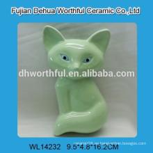 Mini humidificador de cerámica de alta calidad del aire con diseño verde del zorro