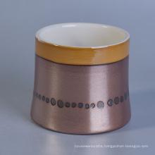 Home Made Smart Cup Ceramic Bamboo Jar