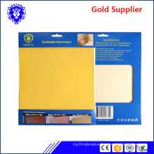 2018 factory direct sell water proof or dry sanding paper abrasive paper abrasive cloth sand paper