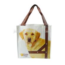 Новые продукты ручной работы, изготовленный на заказ напечатанная Non сплетенная хозяйственная сумка супермаркета