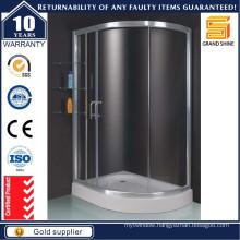 Fiberglass Bathroom Quadrant Glass Shower Enclosures