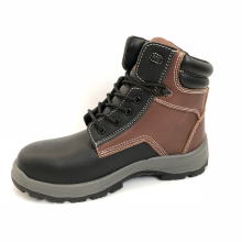 Brand Fashionable Cheaper Steel Toe Cap Anti Static Genuine Leather Rubber Outsole Work Shoes Safety Shoes For Work
